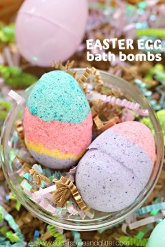 Easter Egg Bath Bombs (with VIDEO)