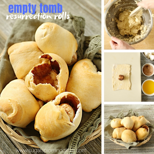 How to make Empty Tomb Resurrection Rolls for Easter