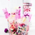 Peeps Raspberry Lemonade Cocktail