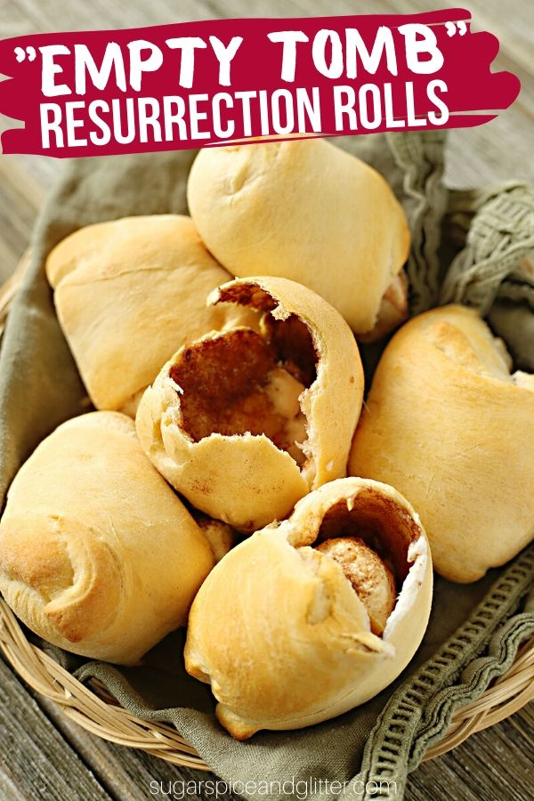 A simple tutorial for Homemade Resurrection Rolls from scratch. A hands on way to teach kids the Easter Story that doubles as a fun Easter breakfast