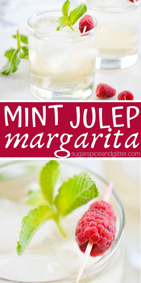 A refreshing alternative to a Mint Julep, this Mint Julep Margarita is the perfect tequila cocktail for a hot summer day