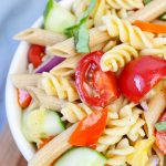Rainbow Pasta Salad (with VIDEO)