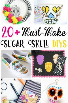 DIY Sugar Skull Crafts