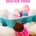 Hidden Brownie Easter Eggs