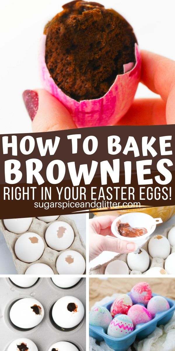 These Easter Egg Brownies are super simple to make and are a fun way to surprise your guests with a hidden dessert. Put them out as table decor, then encourage guests to break them open!
