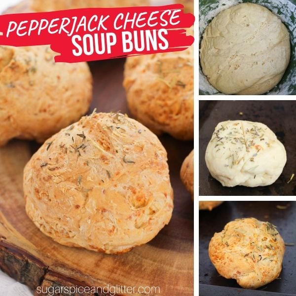 How to make perfect soup buns for dipping into soup in less than an hour