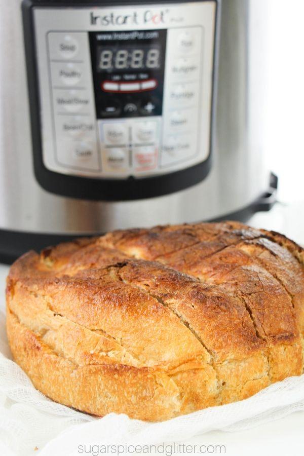 Instant Pot Bread Sugar Spice And Glitter