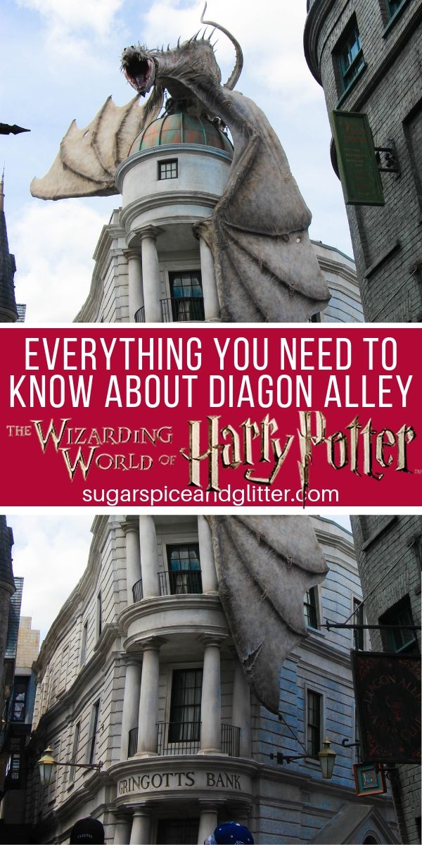 Plan the ultimate visit to the Wizarding World of Harry Potter's Diagon Alley with our Guide to Everything You Need to Know about Diagon Alley