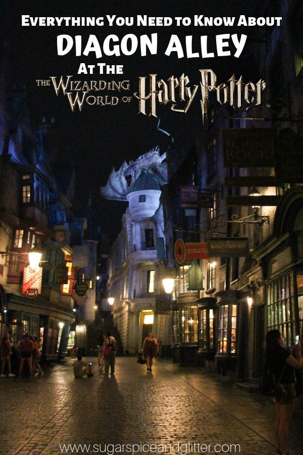 Everything You Need to Know about Diagon Alley at Harry Potter World, Universal Studios Florida