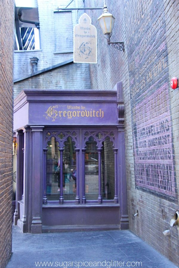Gregorovitch is one of the spots at Wizarding World of Harry Potter where you can buy interactive wands