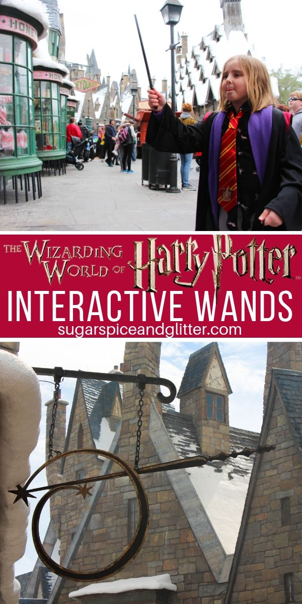 Everything you need to know about Interactive Wands at the Wizarding World of Harry Potter, including how much they cost, secret spots, and tips if your spells aren't working