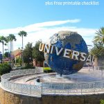 Universal Studios Packing List for Families