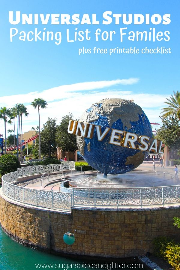 Everything you need to bring with you to Universal Studios with kids, from what should be in your park backpack to what should be left at the hotel