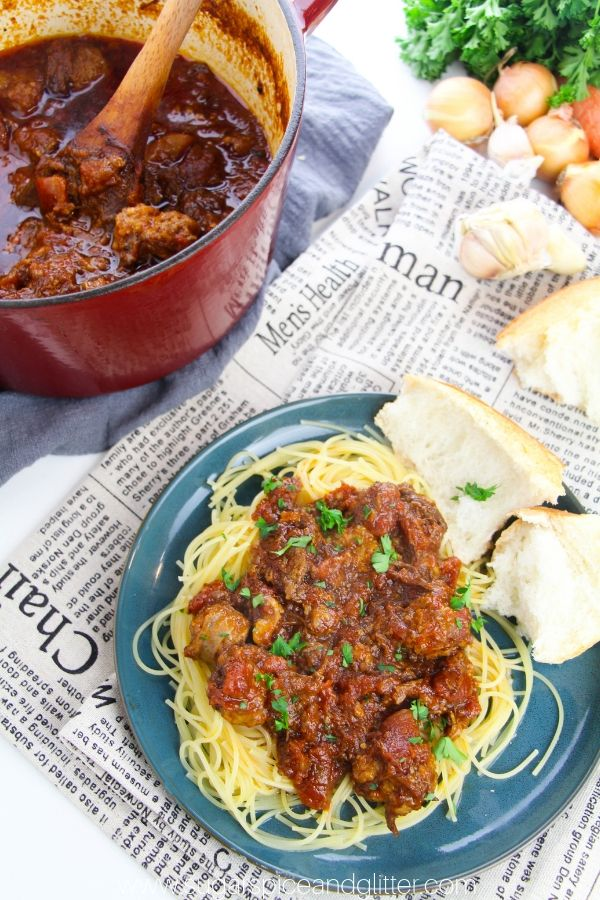The best pasta meat sauce you will ever make, Sunday Gravy is a tradition for a reason!
