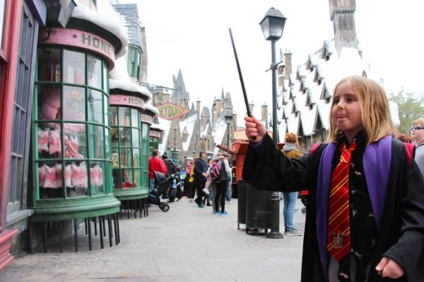 Tips on How to use Interactive Wands at Harry Potter World