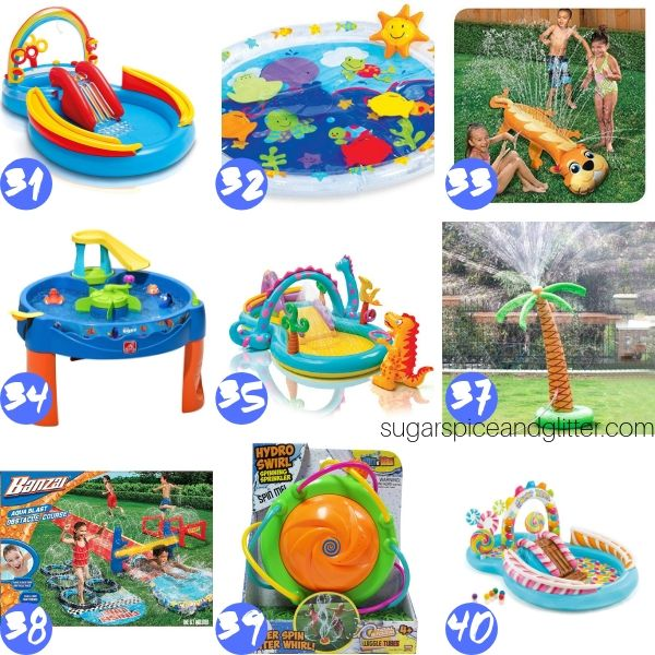 Water Play Activities For Summer ⋆ Sugar Spice And Glitter