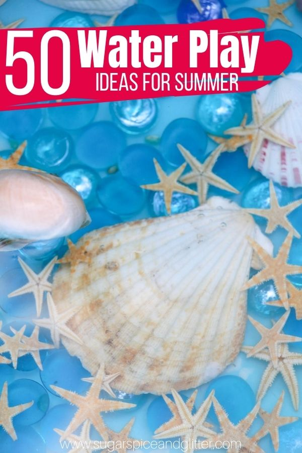 Over 50 Ways to Play with Water this summer - the ultimate guide to keeping kids happy and cooled off this summer, from DIY Water Walls, Water Table Ideas, and more!