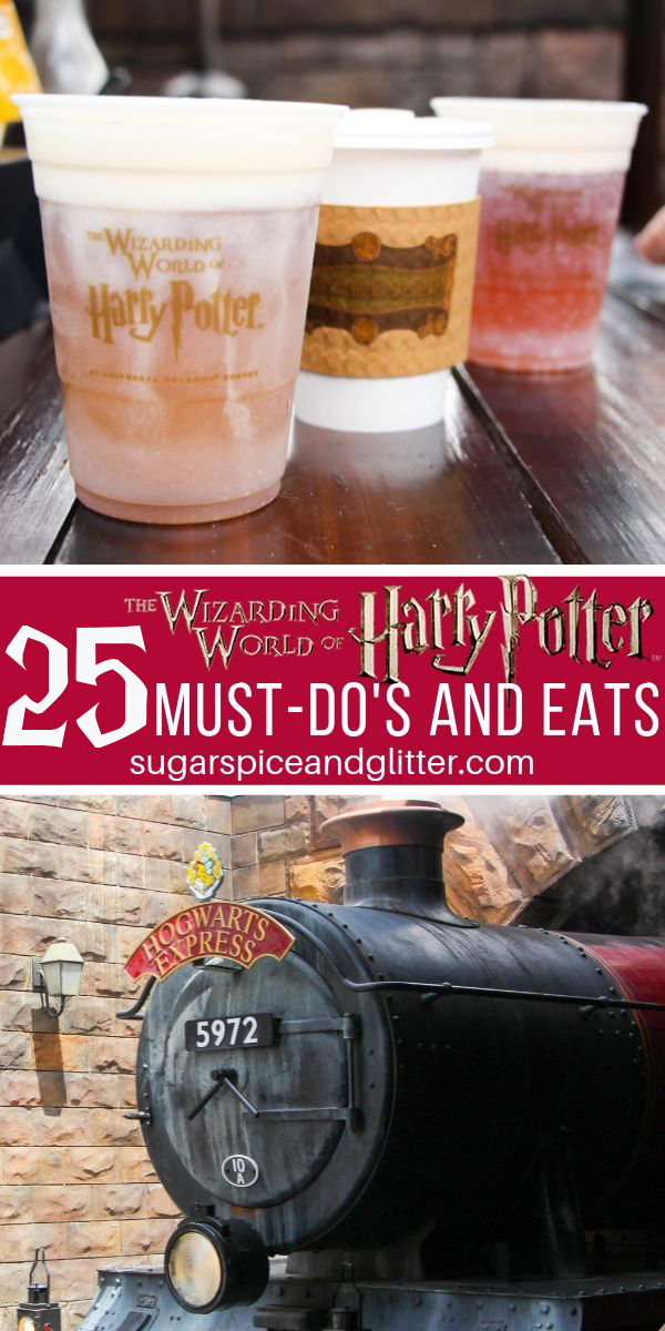 Everything you simply MUST do (and eat) at the Wizarding World of Harry Potter's Diagon Alley
