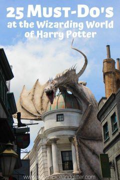 25 Things You Must-Do at Diagon Alley