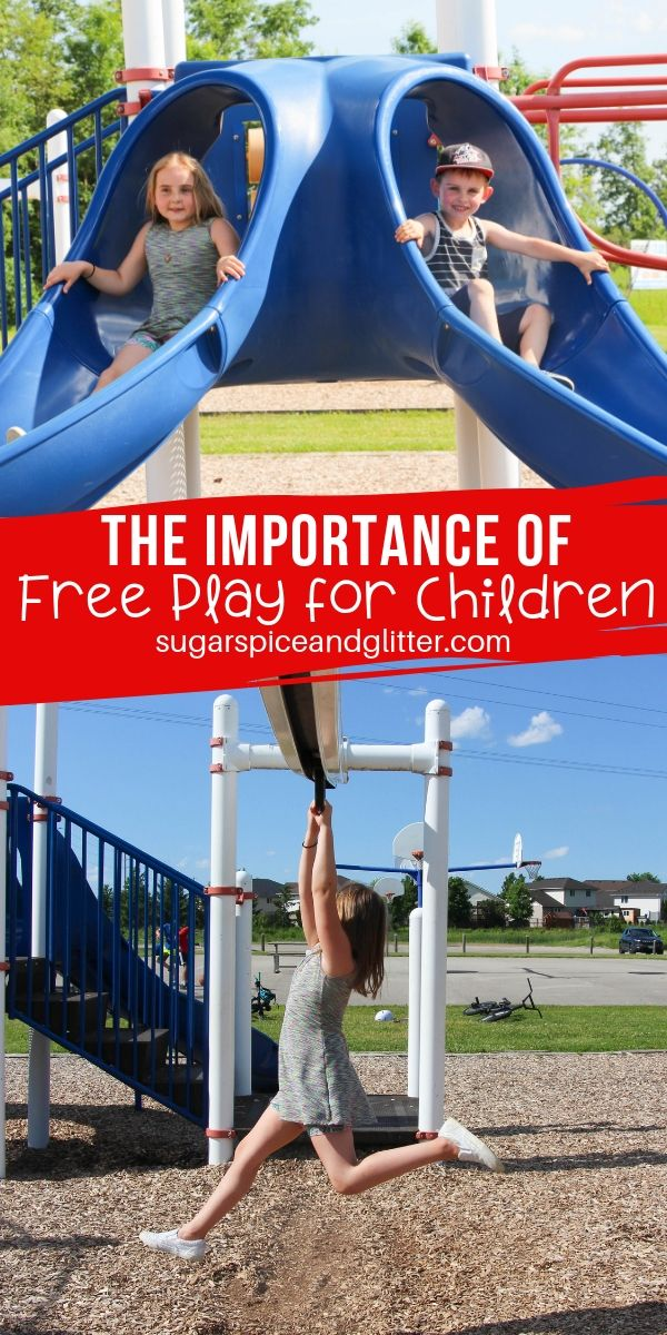 Why is free play important? And how can we give our kids more of it? In this post I delve into all of the benefits of free play for kids, and how you can build in time for free play - even on busy errand-filled days