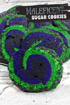 Maleficent Sugar Cookies