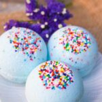 Cotton Candy Bath Bombs (with Video)