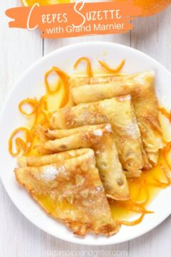 Crepes Suzette with Grand Marnier
