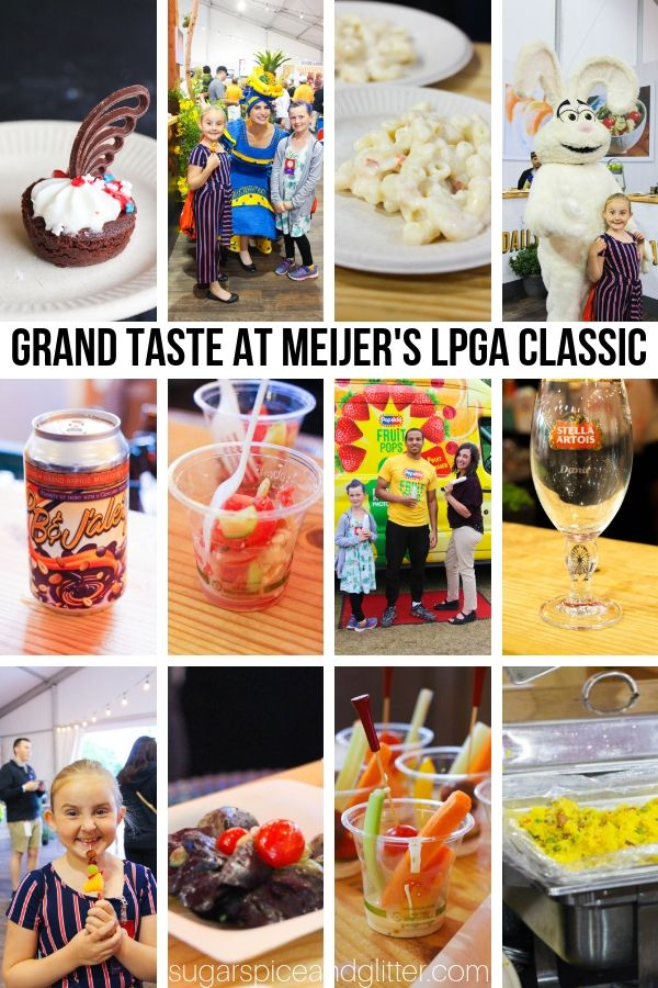 Grand Taste at Meijer's LPGA Classic is the ultimate foodie experience in Grand Rapids, Michigan. Find out everything you need to know about bringing your family