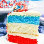 Red White and Blue Layer Cake
