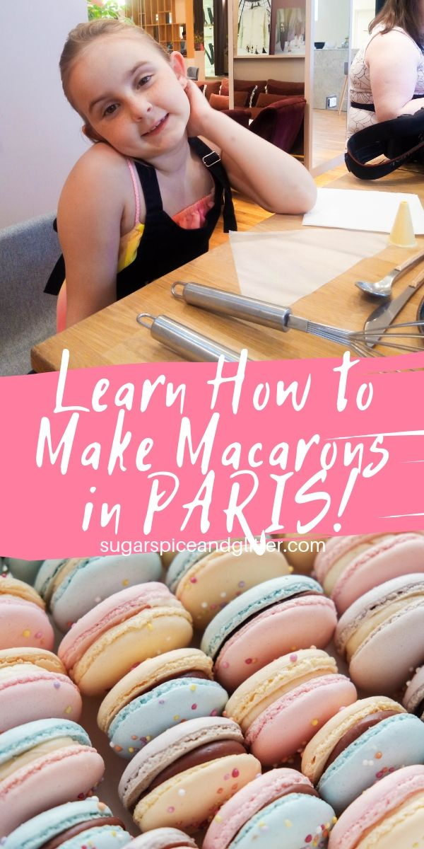 A must-do Paris experience for kids, getting to learn how to make macarons with a French pastry chef in the heart of Paris