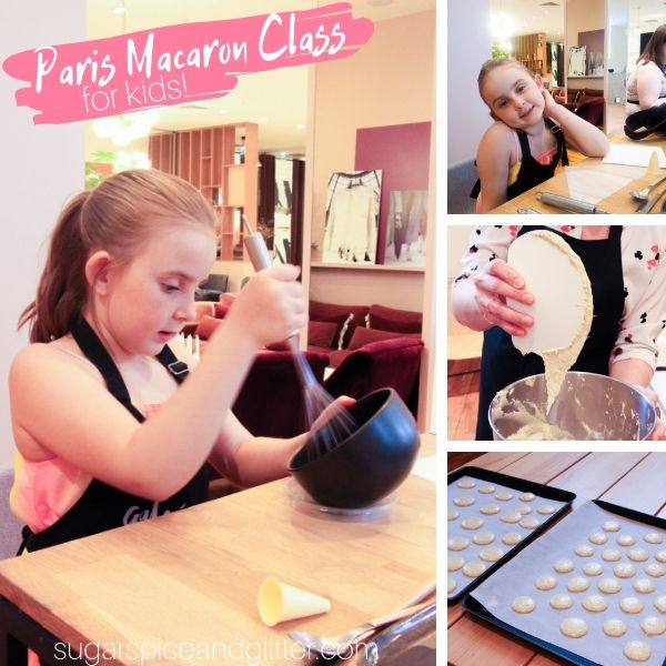 Paris Macaron Class for kids review