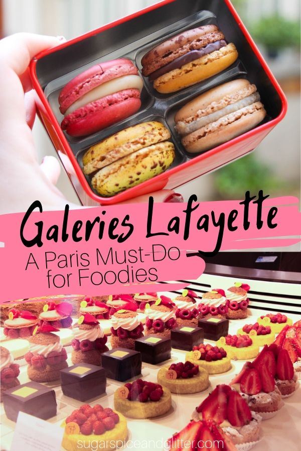 If you're heading to Paris, you need to add Galeries Lafayette to your itinerary. It is packed with foodie delights, amazing restaurants, and fun for the whole family