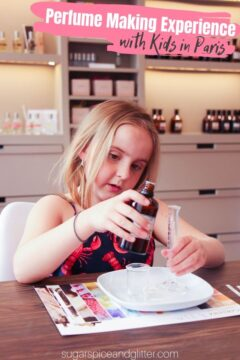 Paris Perfume Making Workshop for Kids