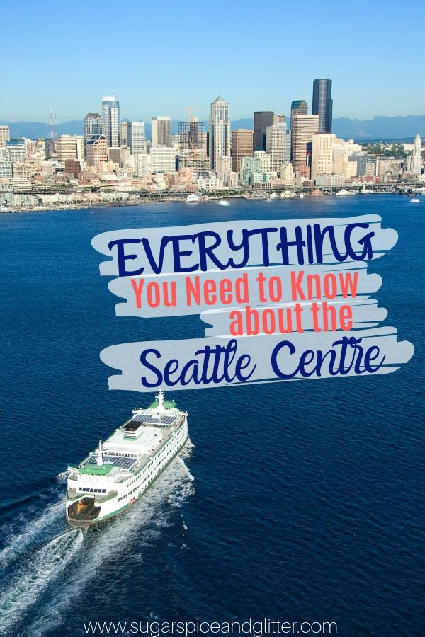 Everything You Need to Know about the Seattle Centre with Kids - from a local! Includes details on the Pacific Science Centre, Museum of Pop Culture, and more