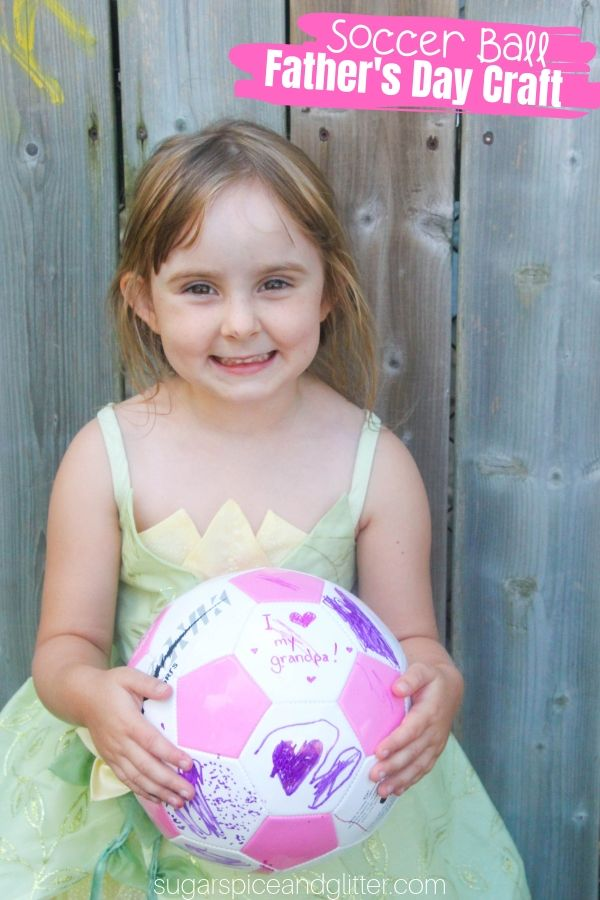 Soccer Ball Craft Sugar Spice And Glitter