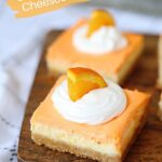 Orange Creamsicle Cheesecake Bars (with VIDEO)