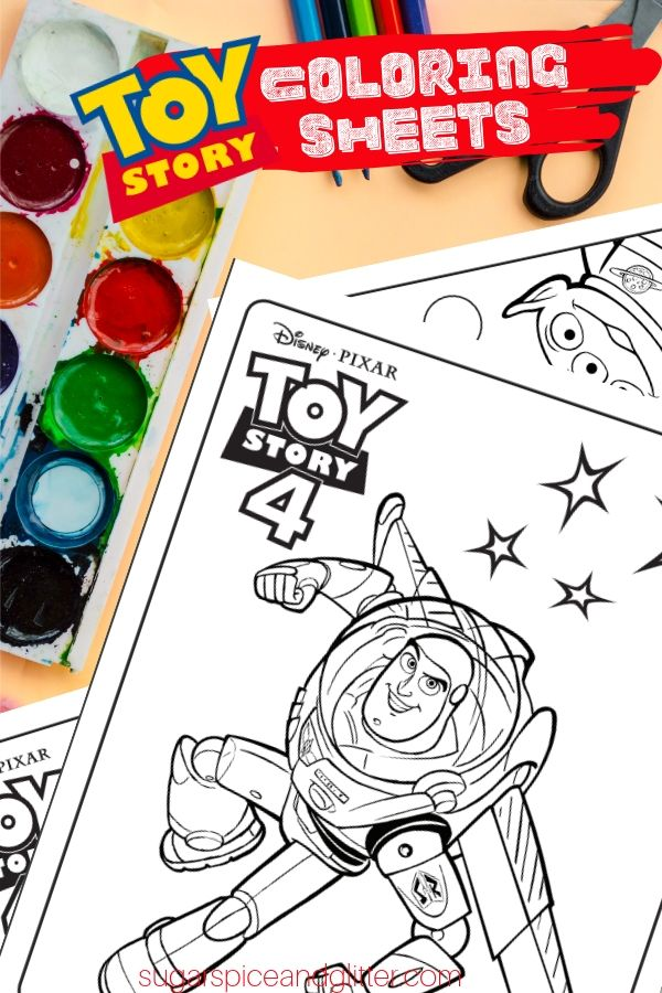 Toy Story Coloring Sheets are perfect for keeping kids busy on road trips, or providing a fun activity for a family movie night