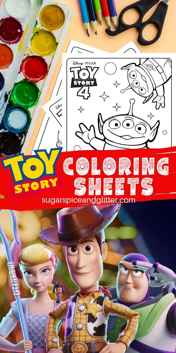 Toy Story Coloring Sheets are perfect for creative Disney kids who can't get enough of their favorite characters. Perfect for a Toy Story party or family movie night