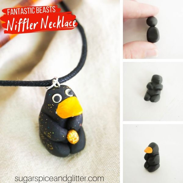 How to make a Niffler Necklace inspired by Fantastic Beasts and Where to Find Them