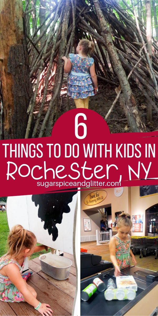 Everything you need to know to plan your Rochester NY Family Vacation, including what to eat, where to stay and six amazing family-friendly things to do