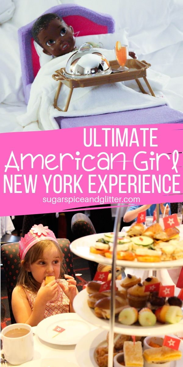 Planning a family vacation to NYC? Why not plan a special day at the American Girl NYC Flagship store for your little one and their doll?! This post has everything you need to know - from the shopping, to the food, and more!