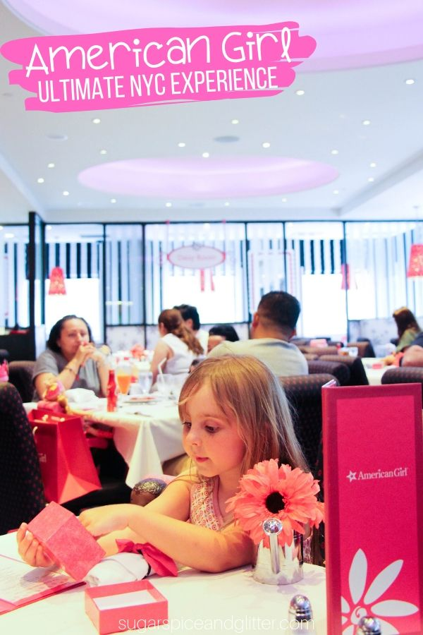 Everything you need to know to plan the ULTIMATE American Girl experience at their NYC Flagship Store, from the cafe, to personal shoppers, to add-on doll spa services, and more!