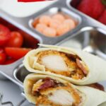 Chicken Caesar Wraps with Homemade Caesar Dressing (with Video)