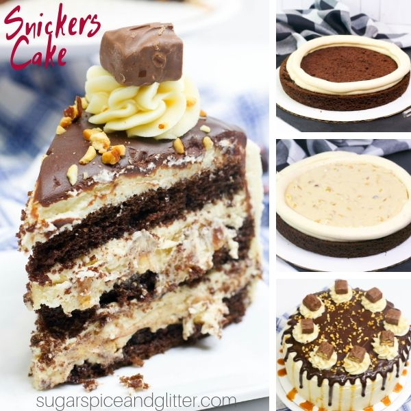 How to make the best ever Snickers Cake at home