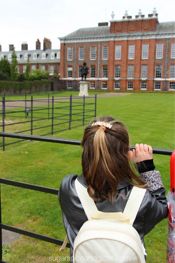 Visiting Kensington Palace with the London Pass