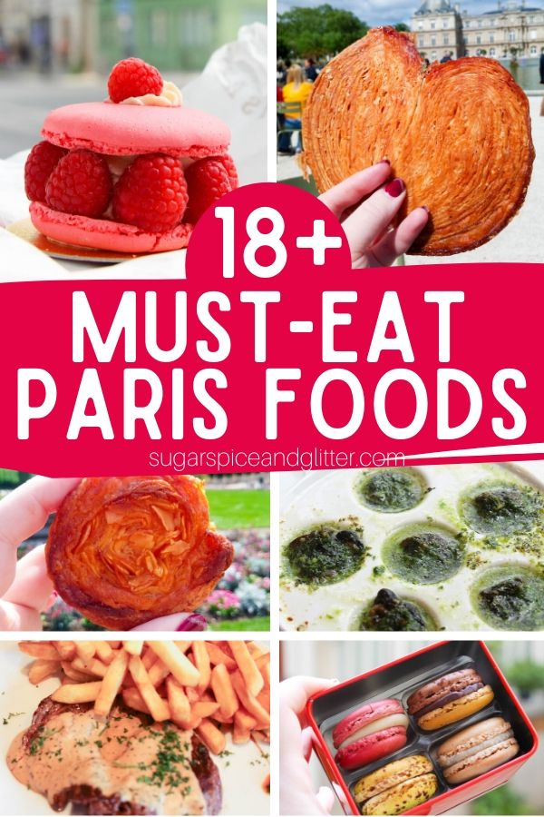 Planning the ultimate Paris vacation? Then you need to add these Must-Eat Paris Foods to your list! Many of these French foods you probably have never heard of - but you'll be so glad you did!