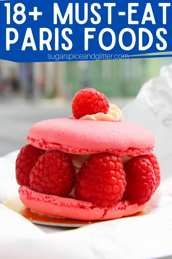 Isaphan is the best Paris dessert you've never heard of, but won't be able to get enough of! Check out our full list of 18+ Paris Must-Have Foods, plus honorable mentions and must-try drinks for your Paris Foodie vacation (and a free printable checklist)