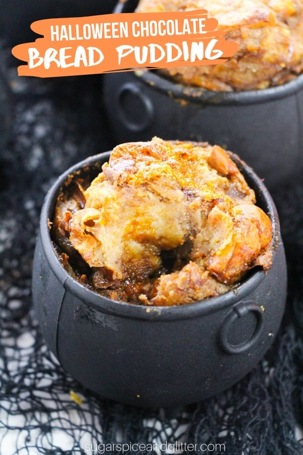 A super simple chocolate bread pudding made with Hawaiian dinner rolls and chocolate bars - the ultimate caramel chocolate bread pudding recipe