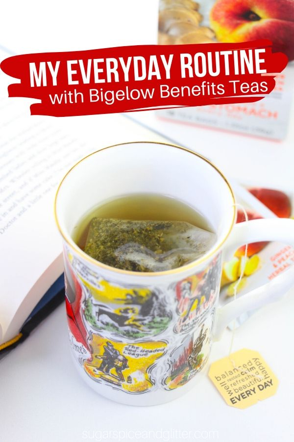 How to take the best of vacation home with you by enjoying Bigelow Benefits tea in an at home ritual. Slow down and reap the benefits of this delicious tea