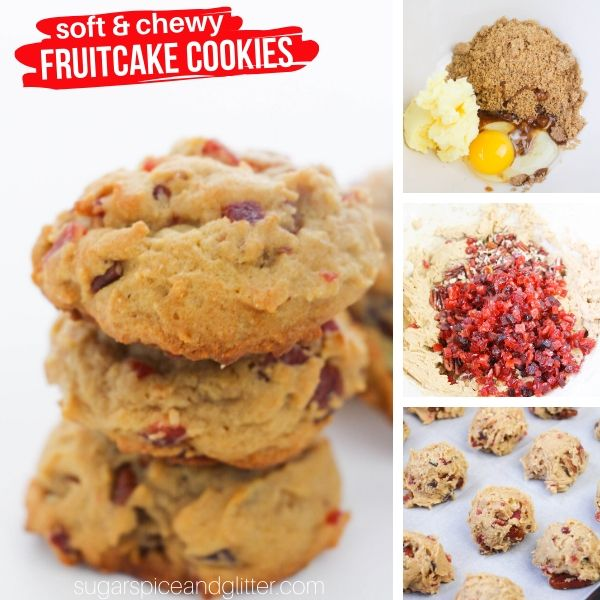 How to make Fruitcake Cookies - a delicious and unique Christmas cookie recipe